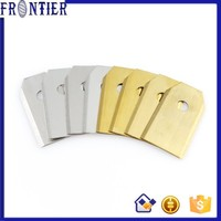 Two hole 0.6mm Stainless steel blades for grass cutting machine