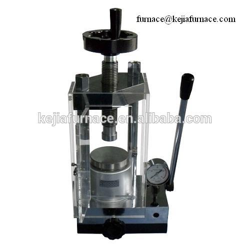 hot sell desktop manual hand press machine, powder pressing machine