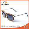 wooden+metal frame wood sunglasses china