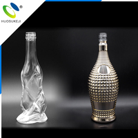 new style all size oem champagne glass 500ml whiskey decanter