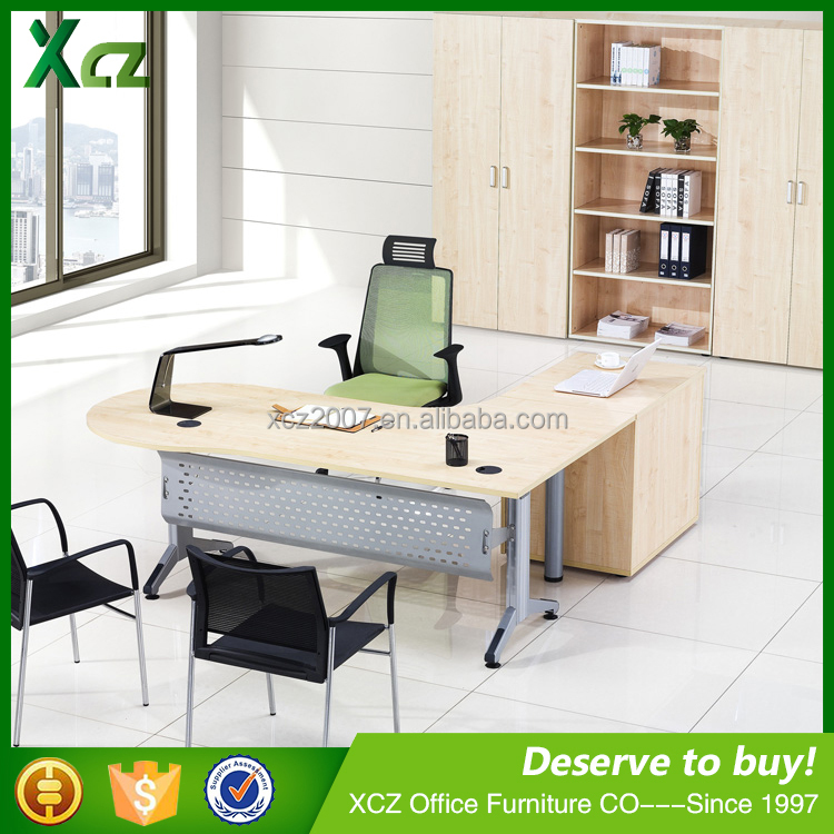 European style melamine modern executive desk office table design