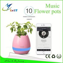 tree plant holder bamboo pot home garden plant bamboo fibre eco friendly plant holder, music flower pots