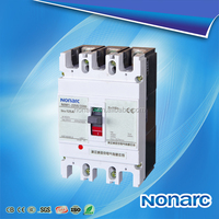 White Cover MCCB NOM1 telemecanique moulded case circuit breaker,type of electric circuir breakers