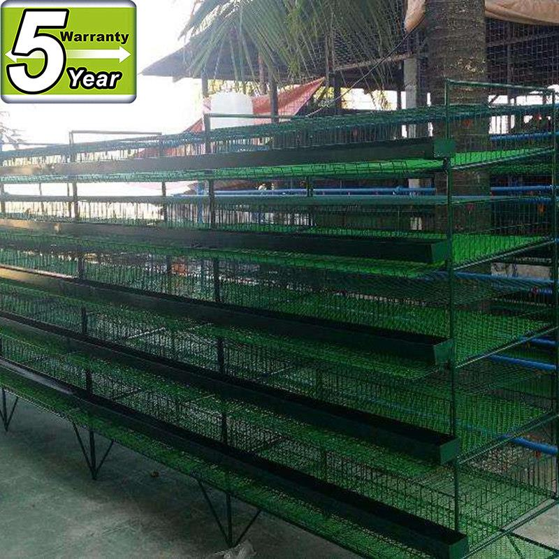 metal quail cage and automatic water system