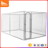 Hot selling good price hot dip galvanize large dog kennel