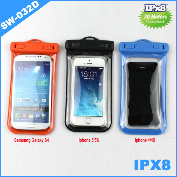 Beach Waterproof case for iPhone 6, for iPhone 5 samsung galaxy s5/s4 Mobile Phone PVC Waterproof Bag