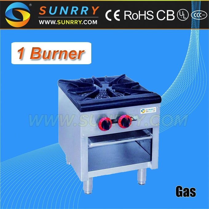 Single gas burner cooktop with one burner gas stove (SUNRRY SY-GB770A)