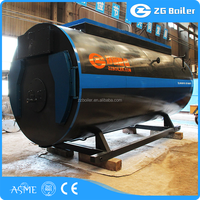Hot sale high pressure conclusion of oil gas steam boiler