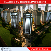Architectural Model Of New Real Estate