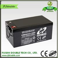 Lead acid batteries for solar systems 12V 250AH VRLA AGM DEEP CYCLE BATTERY
