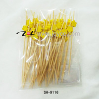 China best seller customized bamboo kids skewers for fruit, safe skewer