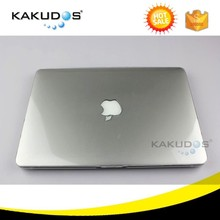 Full coverage Transparent crystal clear laptop case for macbook pro 13""