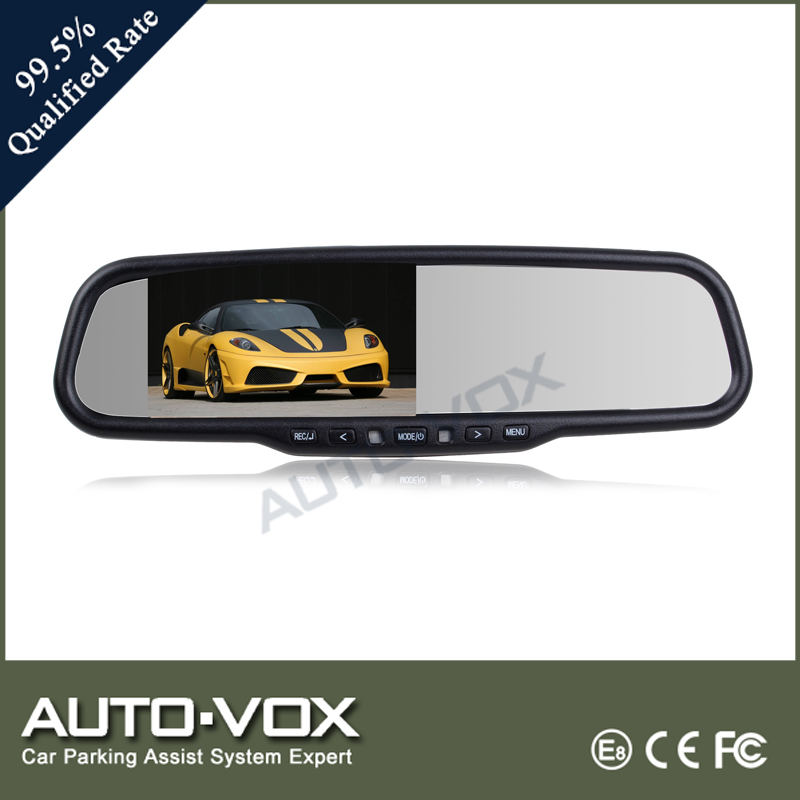 HD 1080P car mirror camera with oem bracket and high brightness