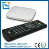 Remote control wifi and bluetooth octa core tv box 4k 2d to 3d converter box for tv