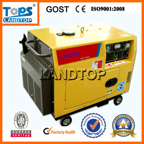 LTP Air Cooled 5kva diesel generator portable set