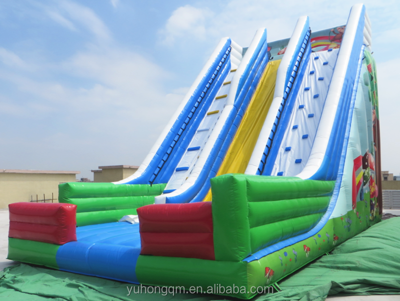 giant and nice inflatable dry slide with high quality commercial