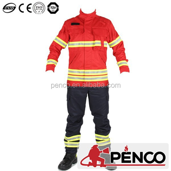 2015 new style NFPA Standard Nomex IIIA fire fighting suit/fire tunics/fireman coverall/fireman jacket/fireman PPE for firefight