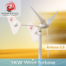 1000W small wind turbine with CE 2015 new model 1000w wind turbine/windmill