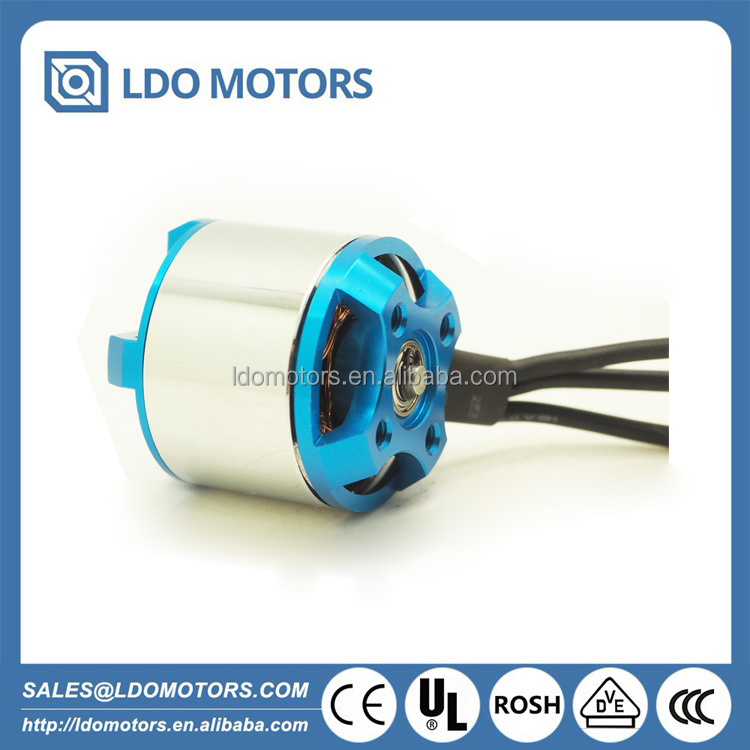 BLDC Outrunner motor for space model and unmanned aerial vehicle, drone, 2-4S lipo,710KV