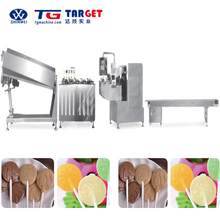 Full automatic Flat lollipop forming machinery with packing machine