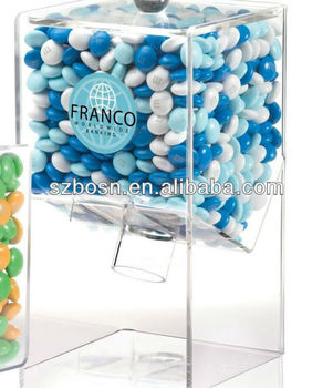 Best Seller Acrylic Candy Display Whole Sale