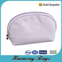Purple PVC leather makeup ladies vanity case