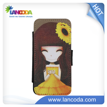 New Sublimation Design PU leather Case for iphone 5s