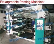 Good quality plastic shopping polythene nylon bag flexo printing machine flexo printing machinery