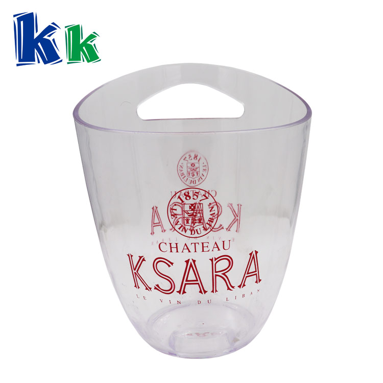 2018 Promotional PP or PS champagne wine cooler ice bucket