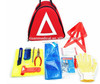 Hot sale Car tool kit with warning triangle for traffic accident