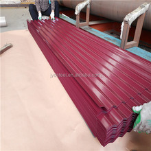 Color PPGI roof tile / corrugated prepainted metal roofing sheet