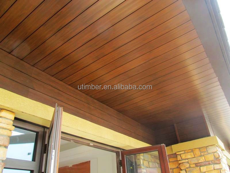 Rich wpc wood hollow tongue and groove composite timber