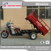 High Quality Factory Price 150cc three wheel motorcycle / chinese gas cargo tricycle