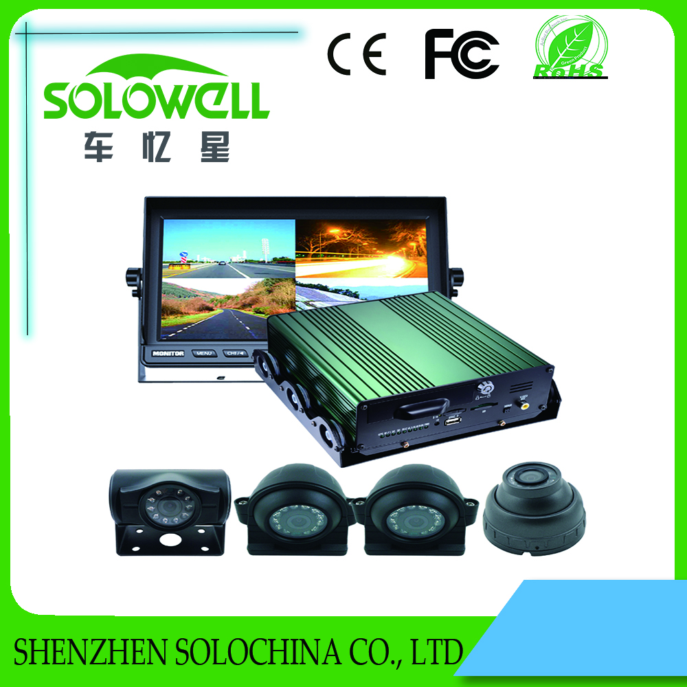 Wholesale HD 4 channel 3g car black box