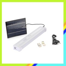 AC 4.4w led tube light 3W solar panel powered fluorescent lamp