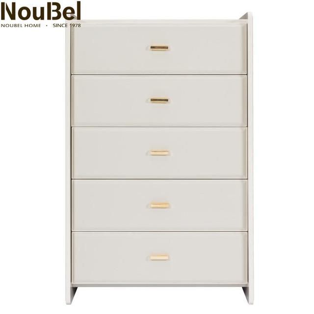 Living Room Furniture Chest Of drawer Desk Top Veneer wooden cabinet