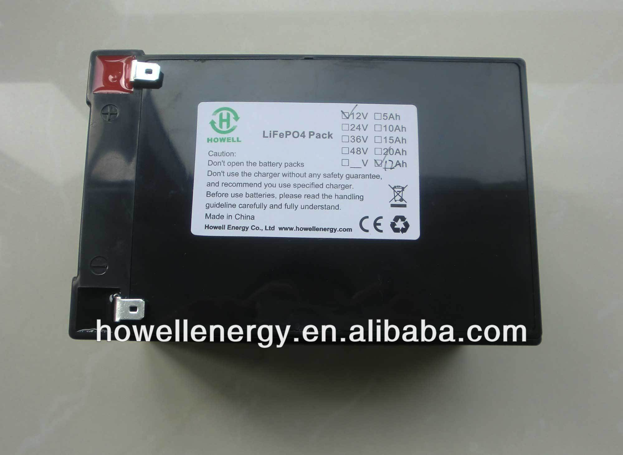 Electric lithium polymer car battery/EV car lifepo4 battery