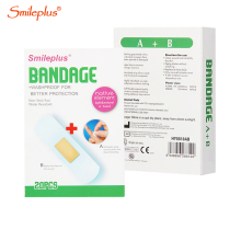 alcohol pad wound medicated adhesive bandages