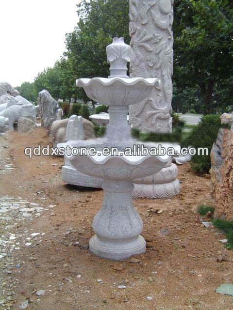 Granite Carved Outdoor Water Fountain