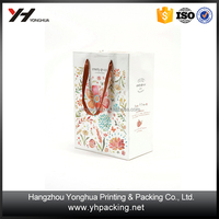Recycled Luxury Packaging Bags Boutique Christmas Paper Gift Bag
