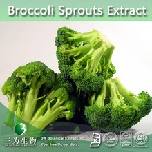 3W supply Broccoli Sprouts Extract | Broccoli Sprouts Powder Extract | Sulforaphane (100% Natural)