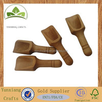 wooden salt bath spoon, wooden scoop