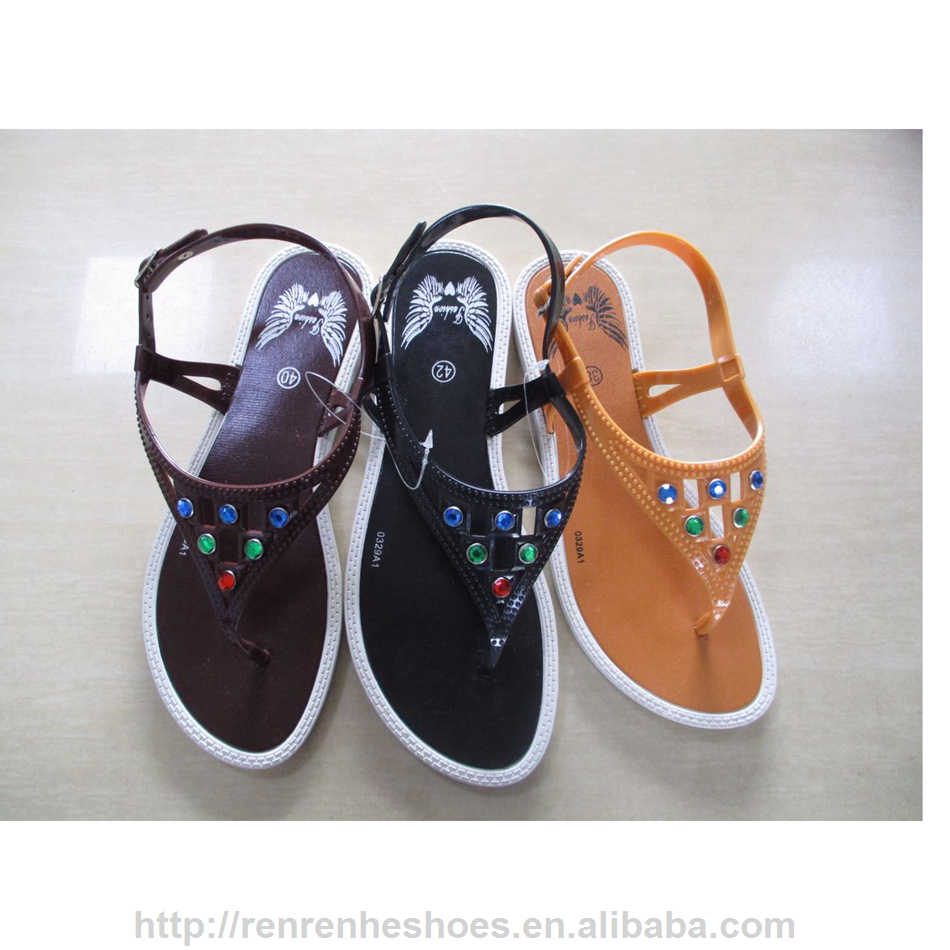 Malaysia style Summer outdoor flip flop <strong>sandals</strong> women with colorful beads