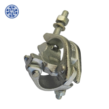 weight for scaffold hoist material construction coupler