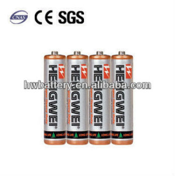 UM-4 Battery Packs AAA 1.5V BATTERY R03-4/S CARBON ZINC