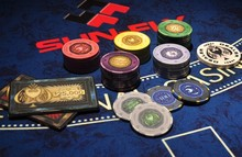 Spaydz good quality chips,casino chips,ceramic family chips