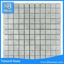 High quality machine grade price man made carrara white marble slab