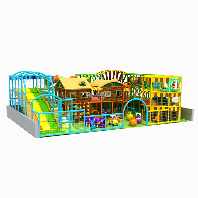 China Entertainment Equipment Kids Soft Small Commercial Combined Indoor Playground Equipment With Slide