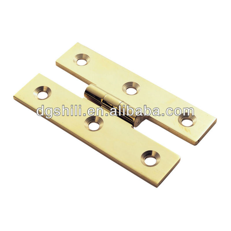 brass pattern hinge hardware