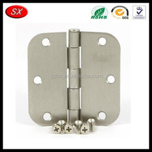 China trade assurance supplier custom OEM anodized aluminum/brass/stainless steel door hinge, window hinge